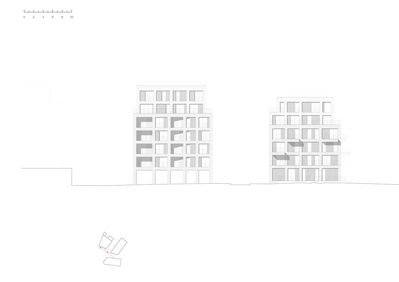 SOUTH ELEVATION Avenier Cornejo Architectes}