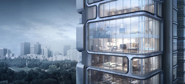 Blueprint of future living space gad · line+ studio
