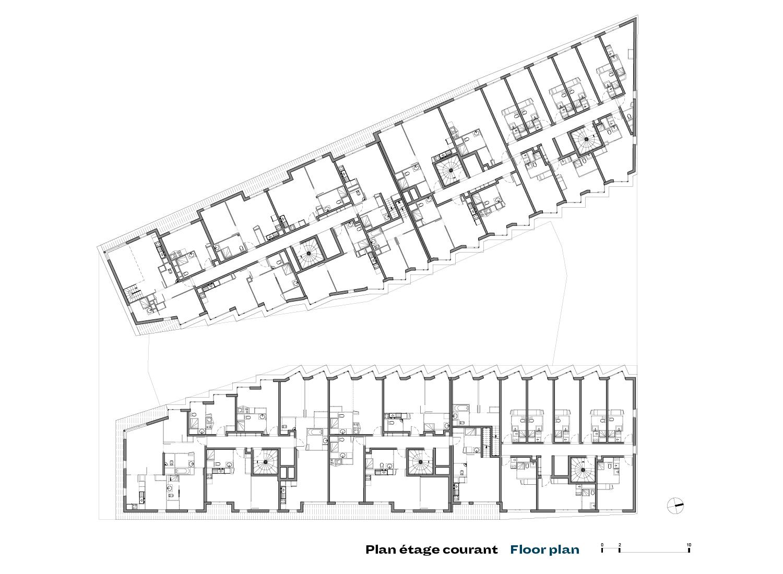 4th stage plan PETITDIDIERPRIOUX Architectes}