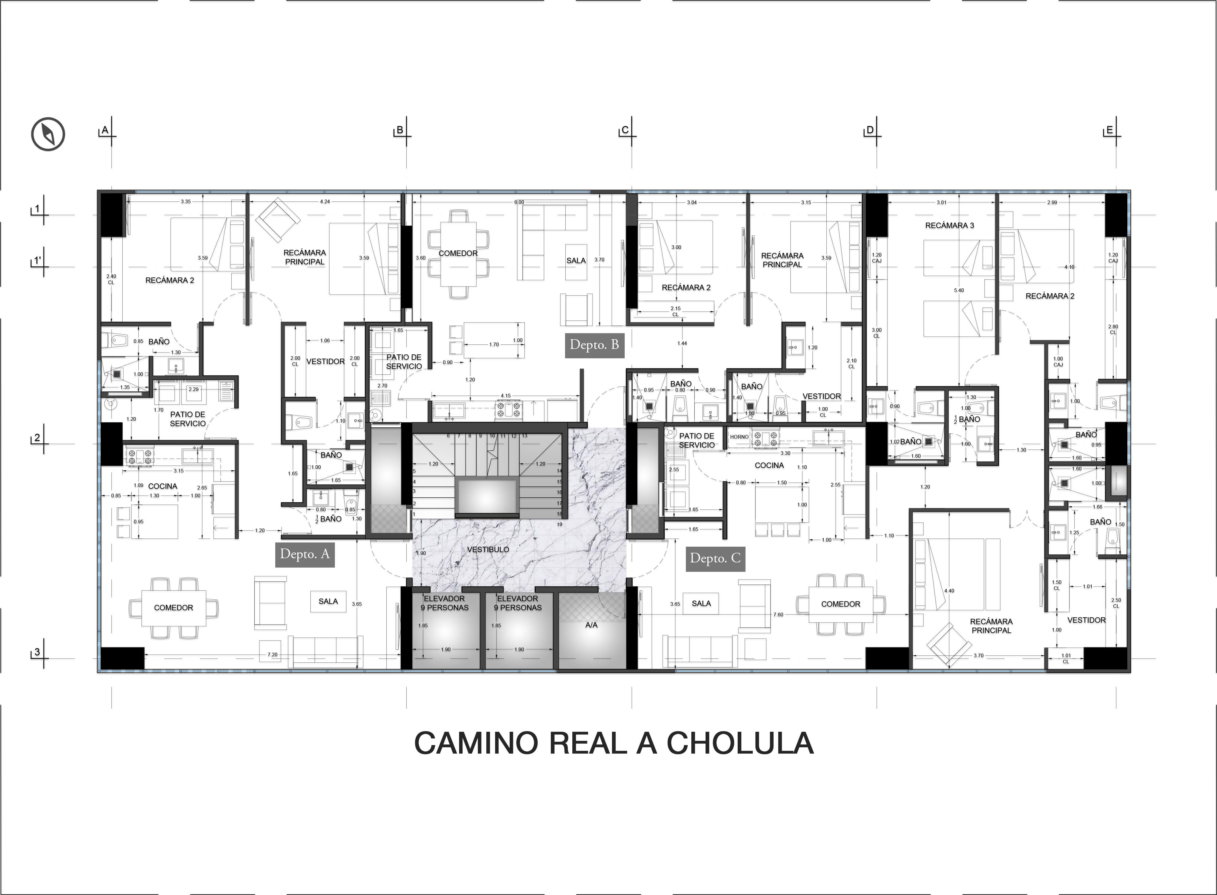1st Floor Plan Valdez Arquitectos}