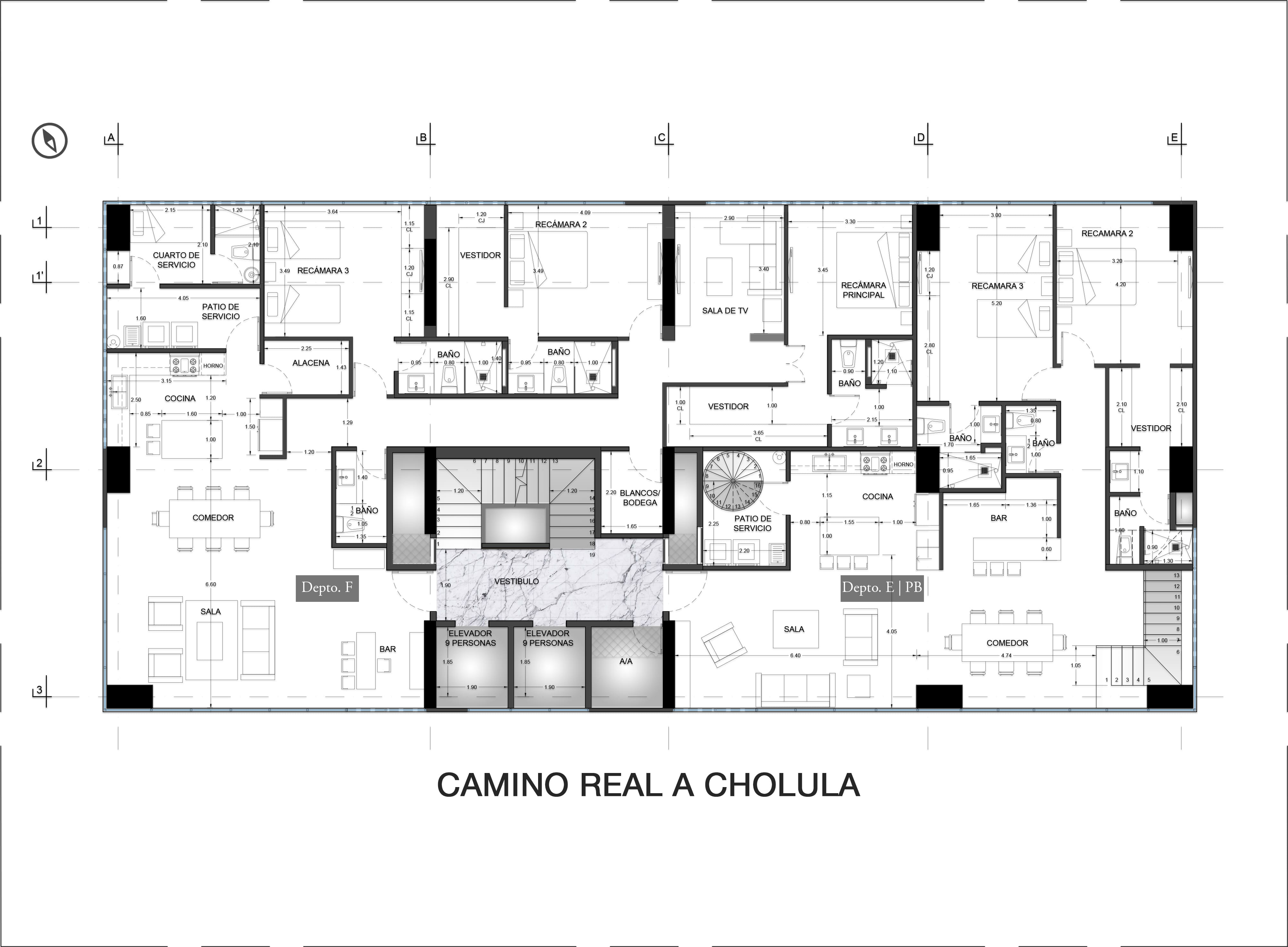 10th Floor Plan Valdez Arquitectos}
