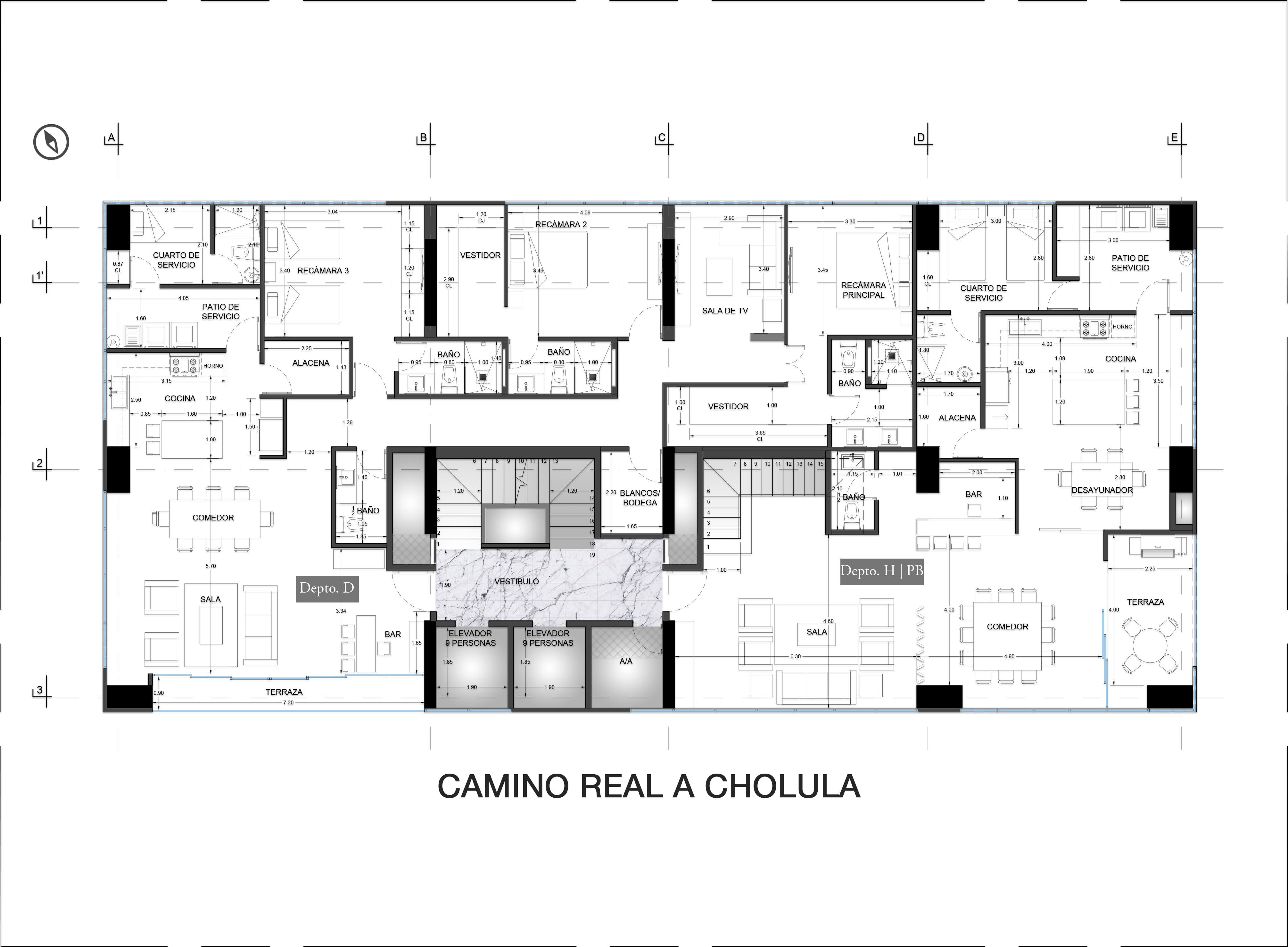 14th Floor Plan Valdez Arquitectos}