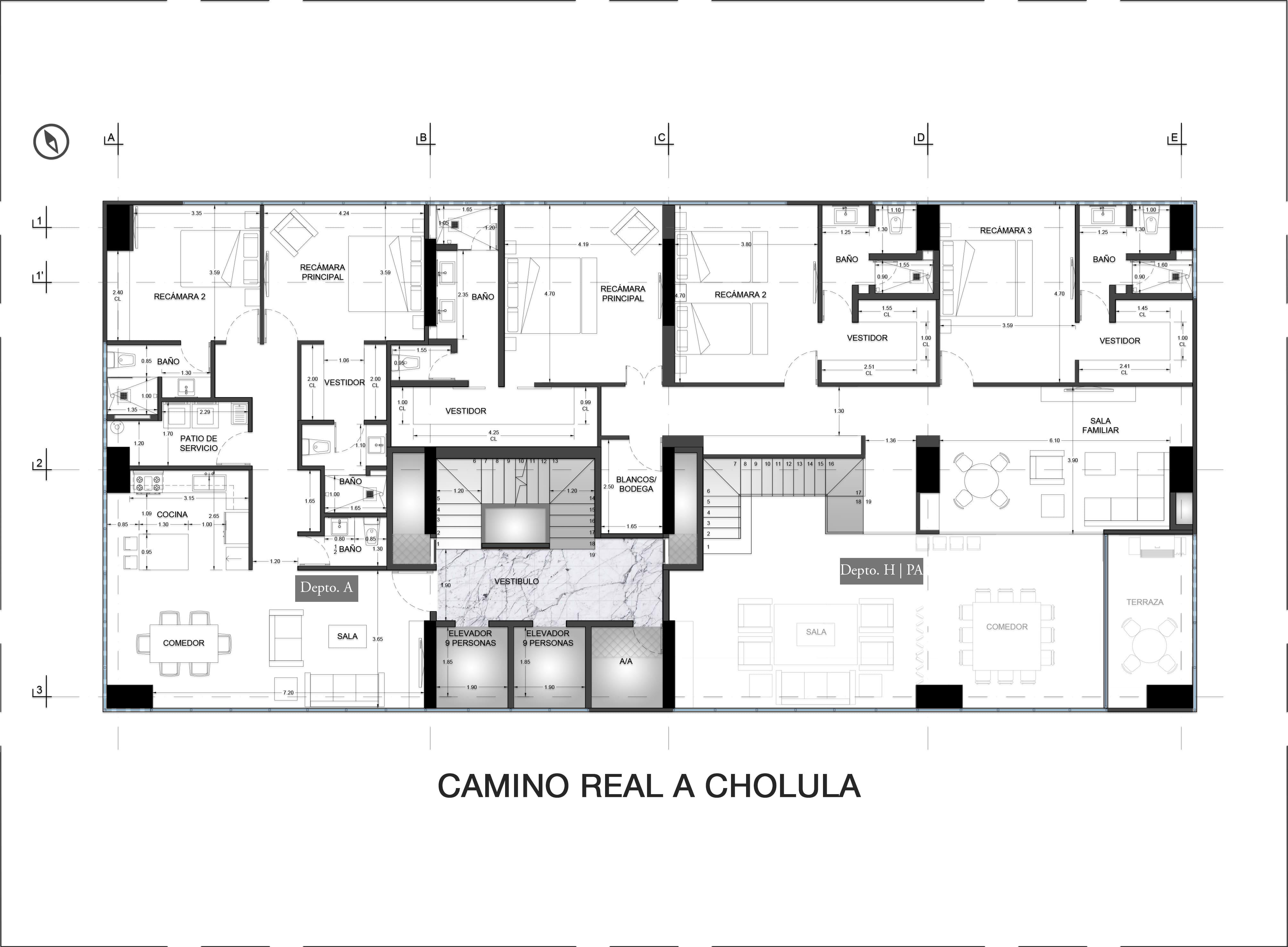 15th Floor Plan Valdez Arquitectos}