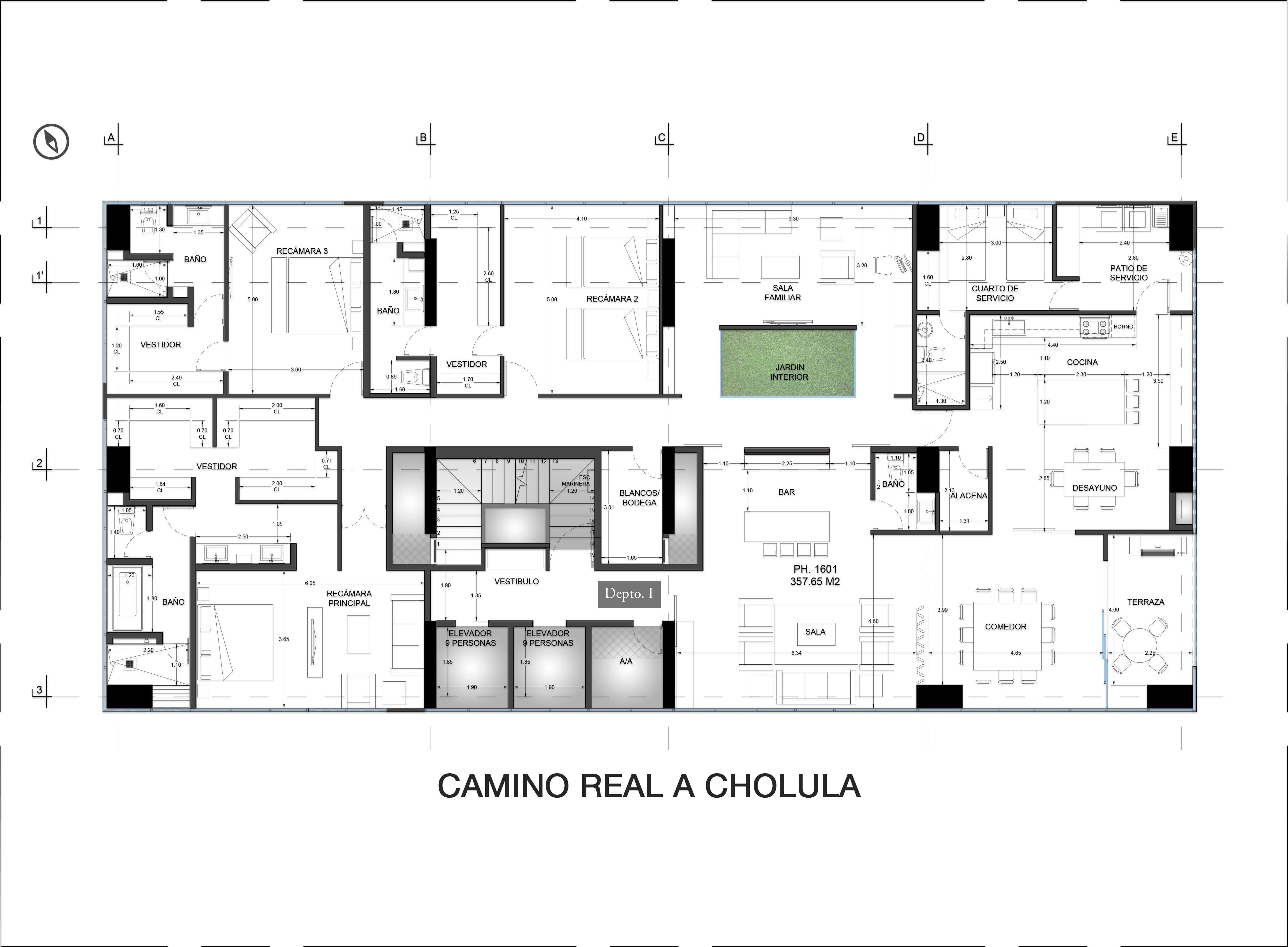 16th Floor Plan Valdez Arquitectos}