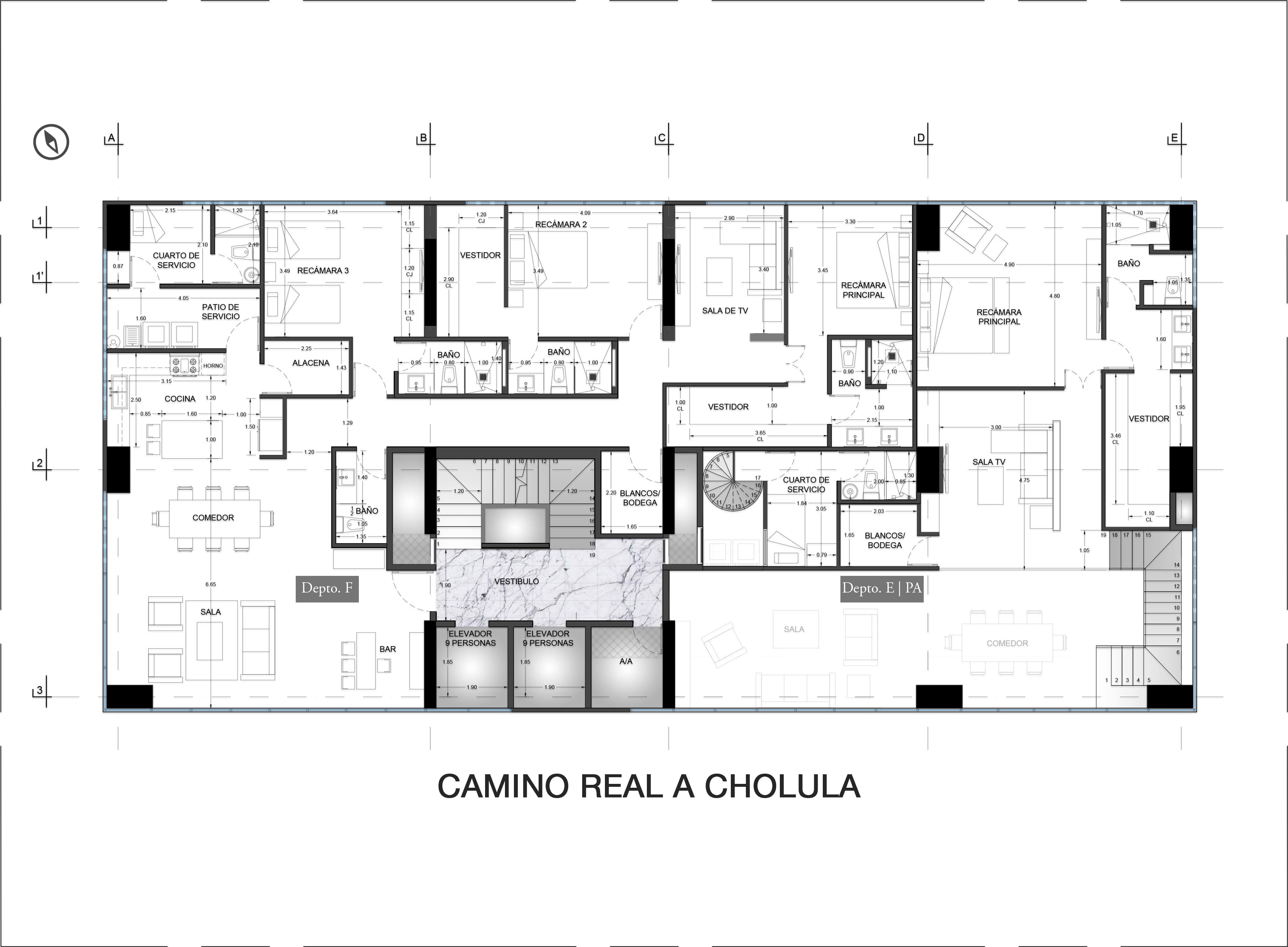 6th Floor Plan Valdez Arquitectos}