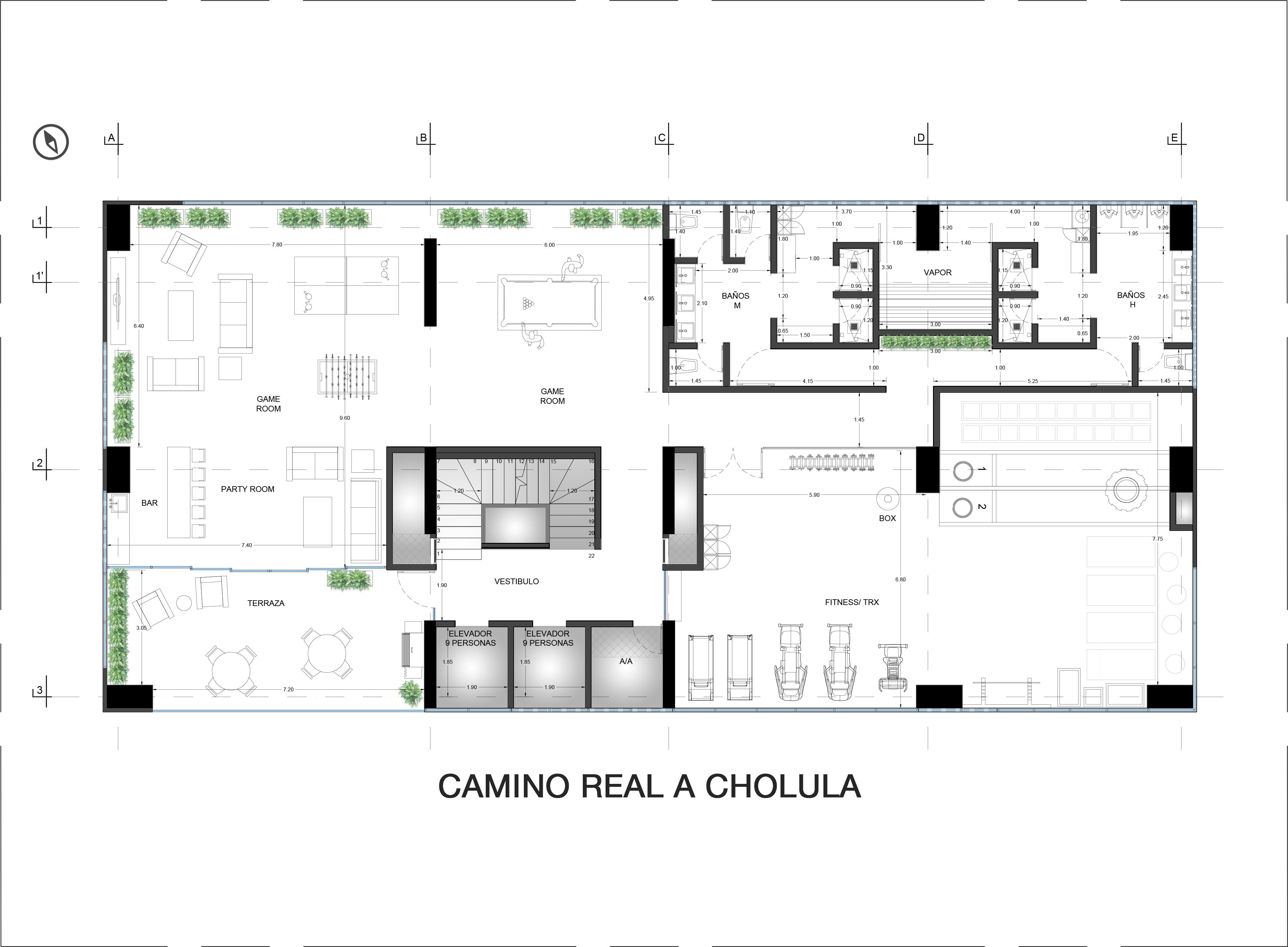Amenities Floor Plan (9th Floor) Valdez Arquitectos}