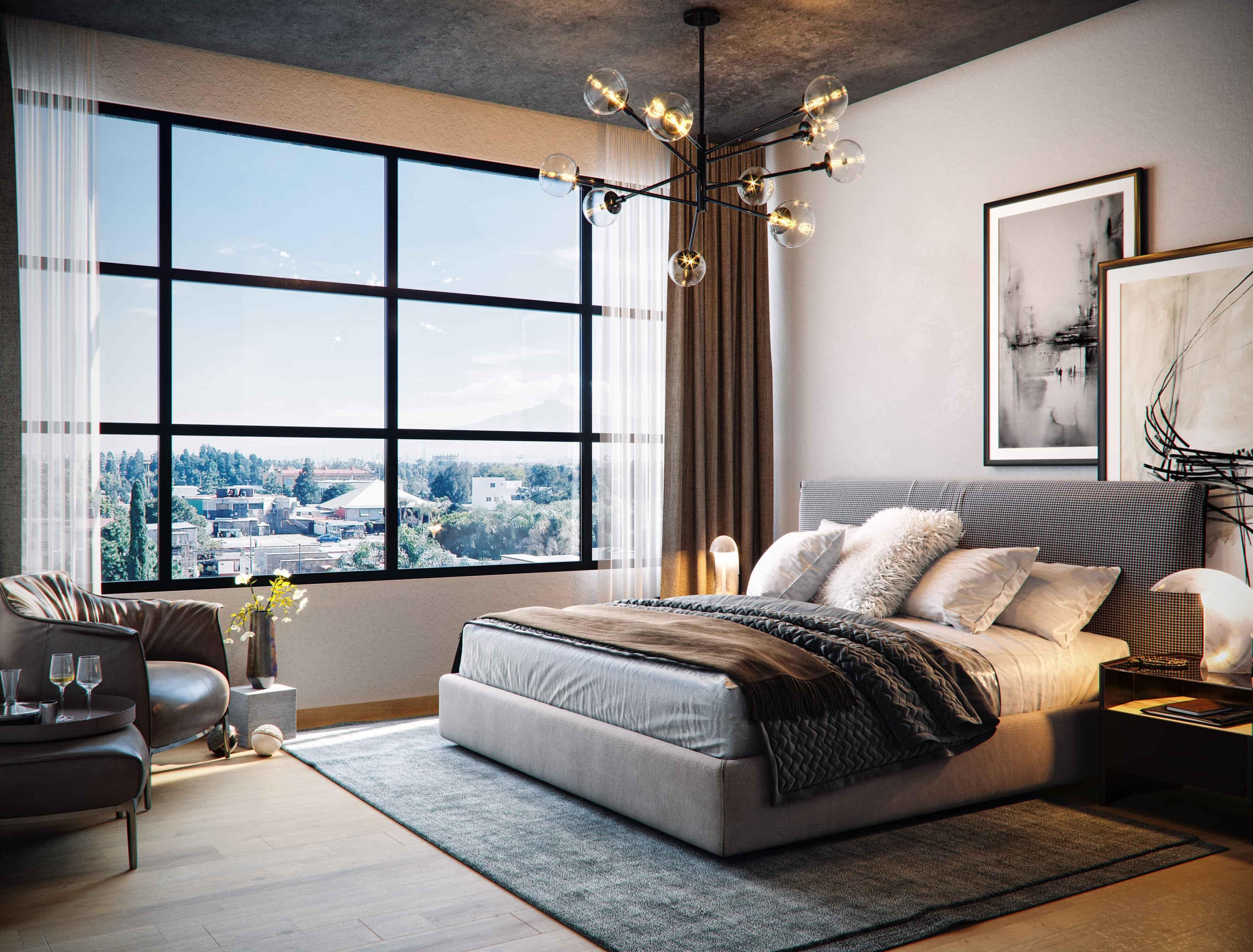 Master Bedroom Valdez Arquitectos