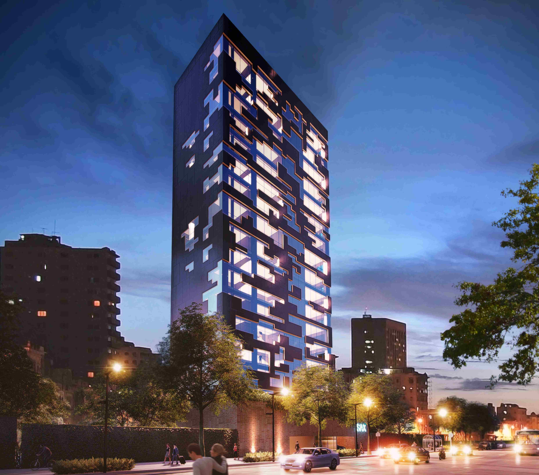 Exterior concept render Valdez Arquitectos