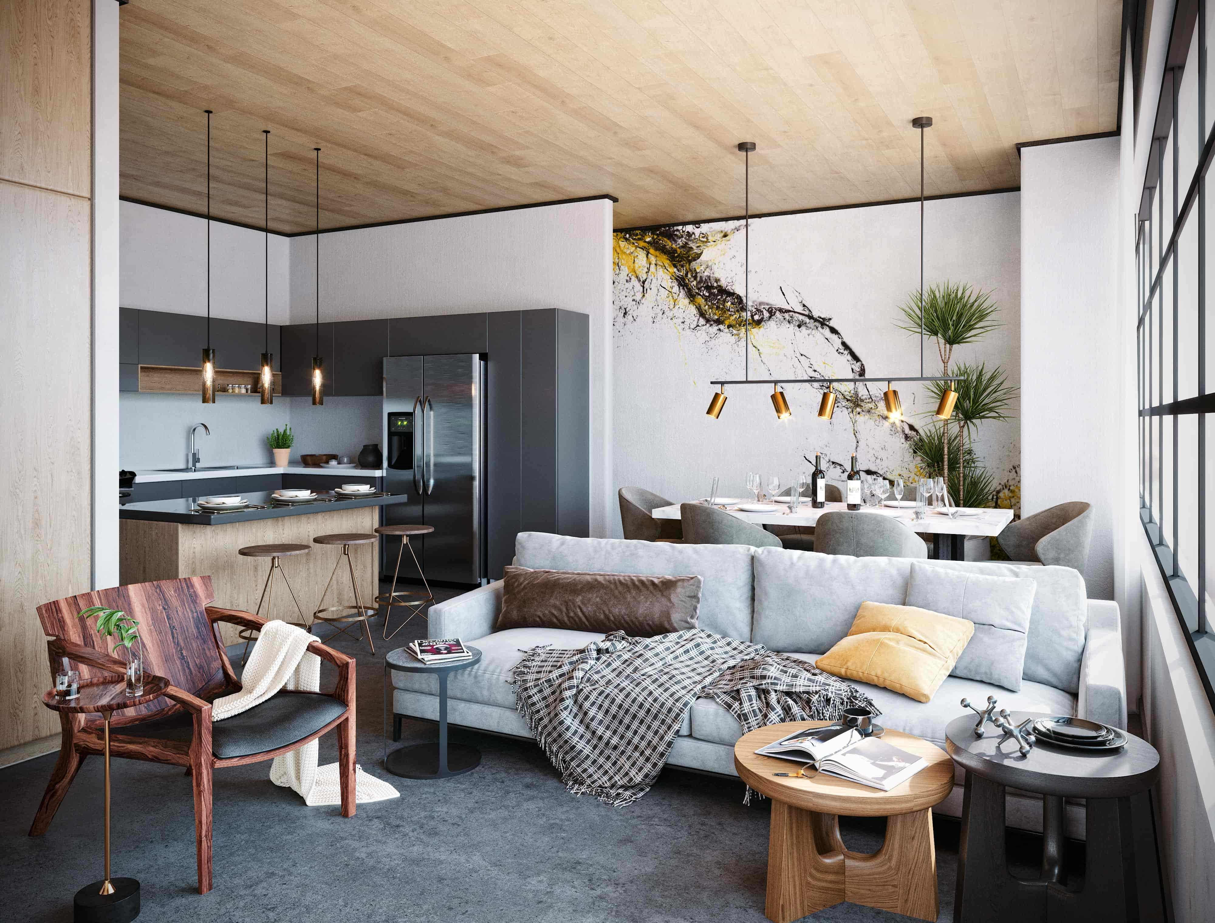 Living Room Valdez Arquitectos