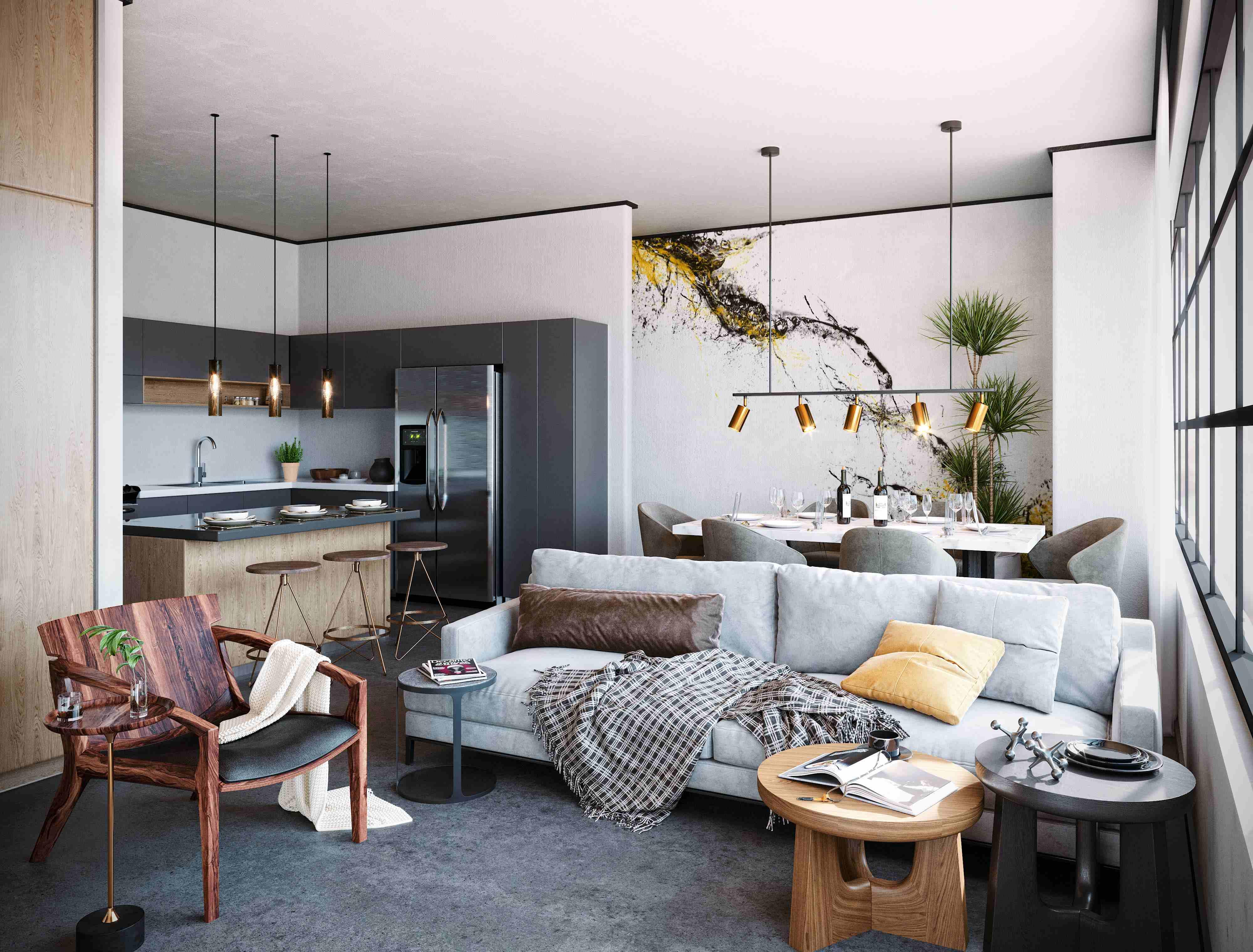 Apartment type 2 Valdez Arquitectos