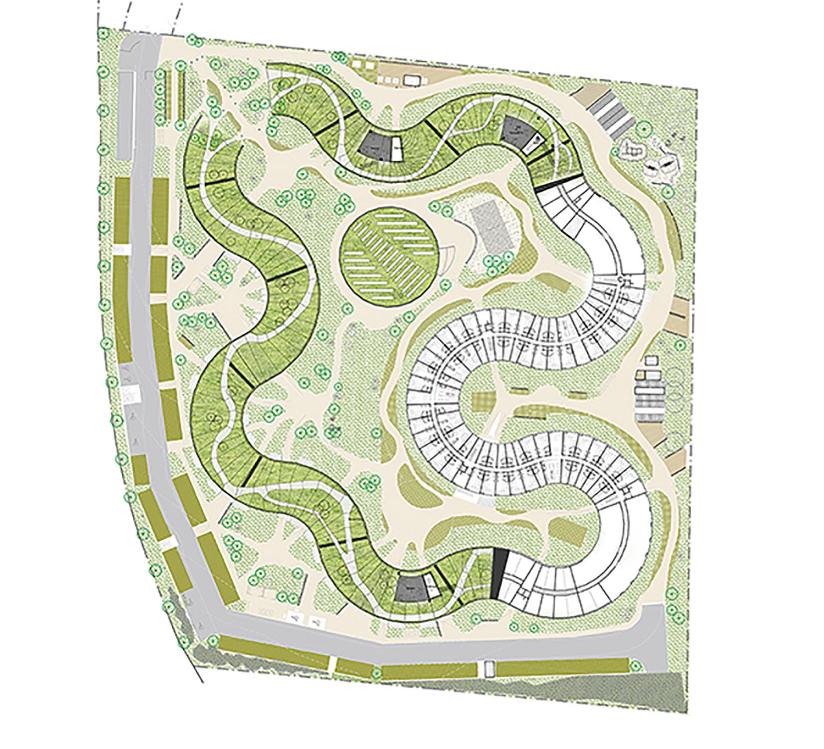 5th floor plan Lars Gitz Architects