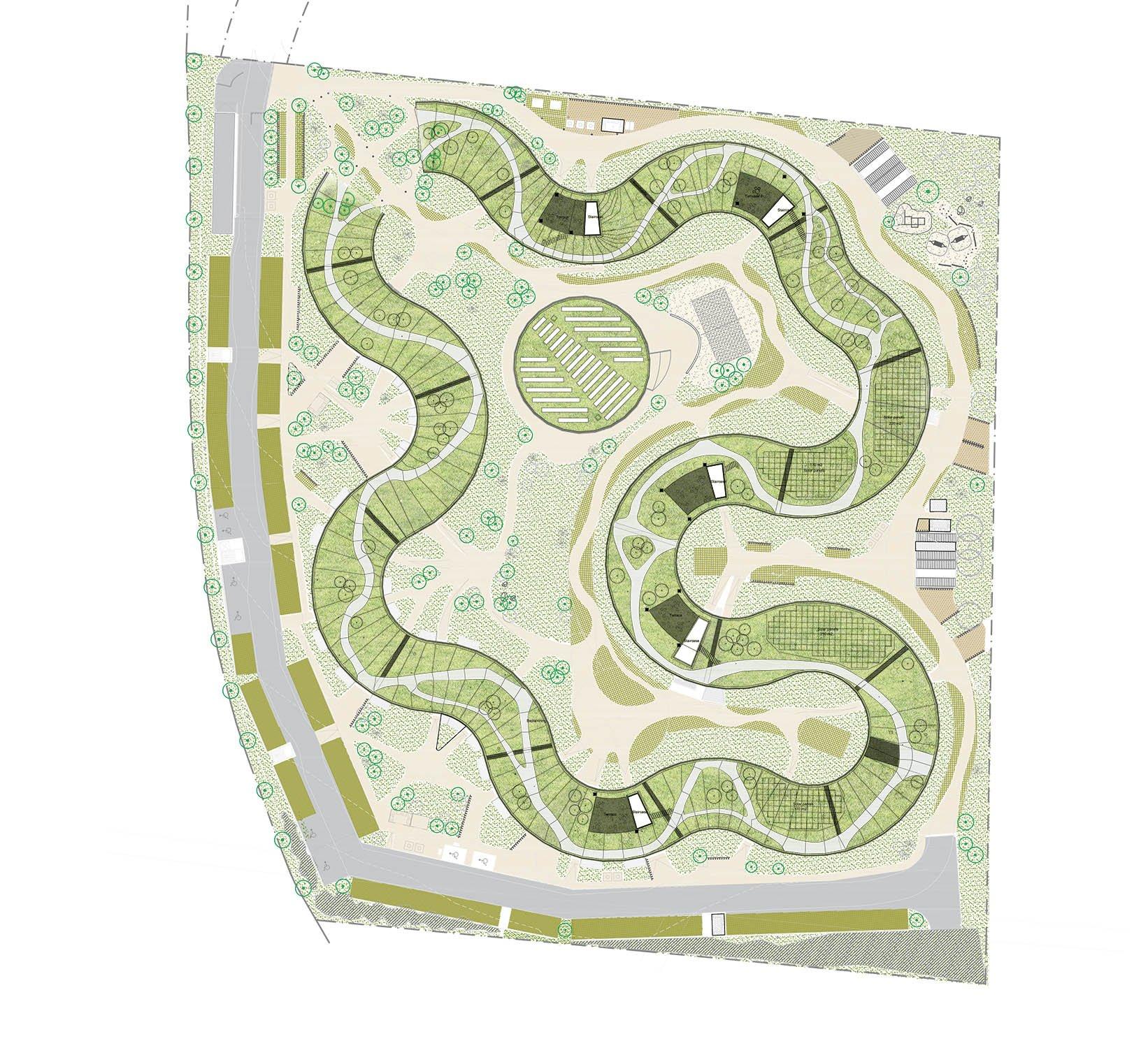 Situations plan Lars Gitz Architects}