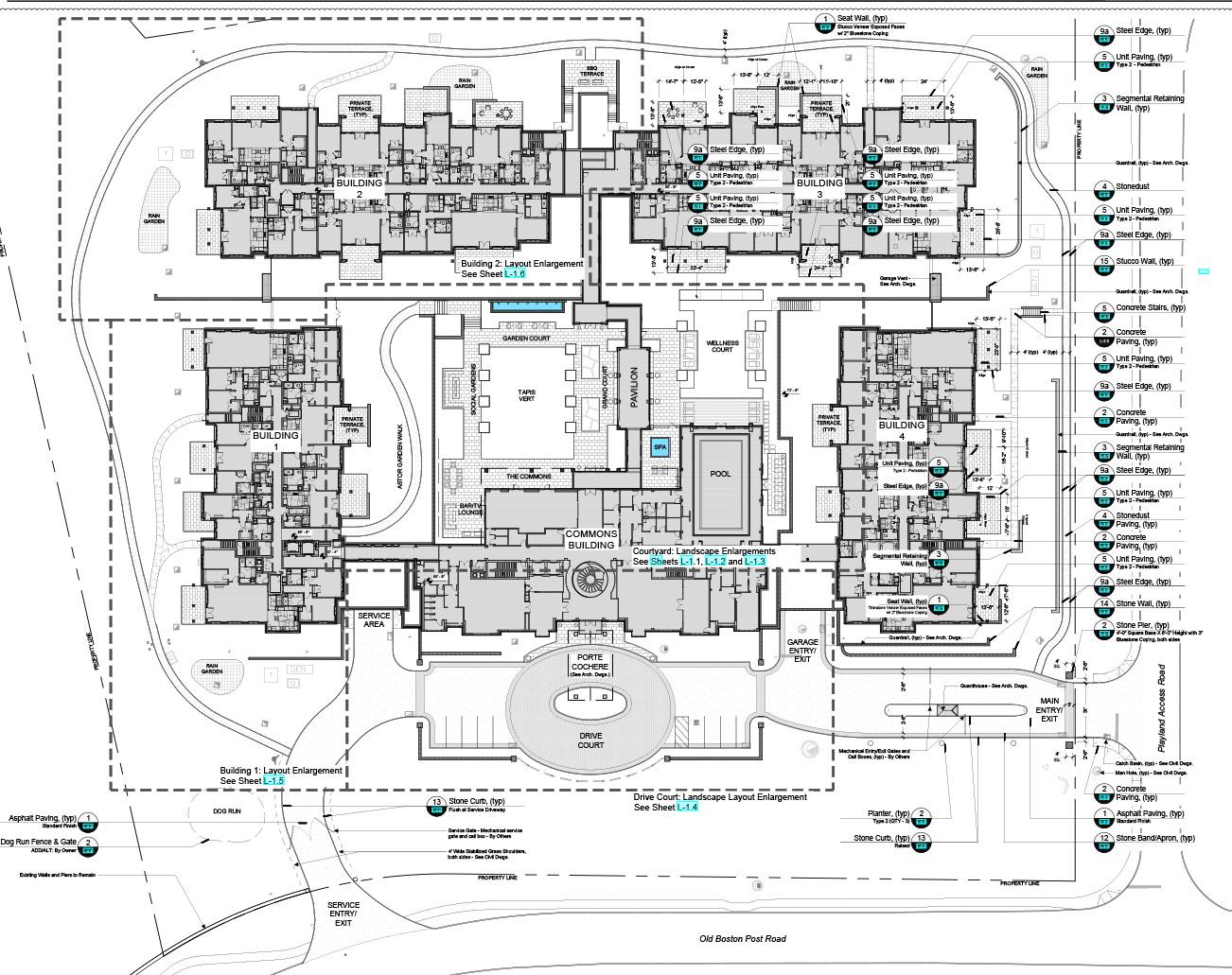 Site Plan Perkins Eastman}