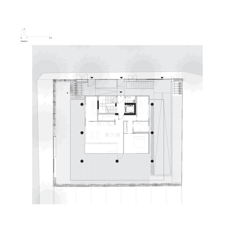 Pianta Piano Terra LVL Architettura}