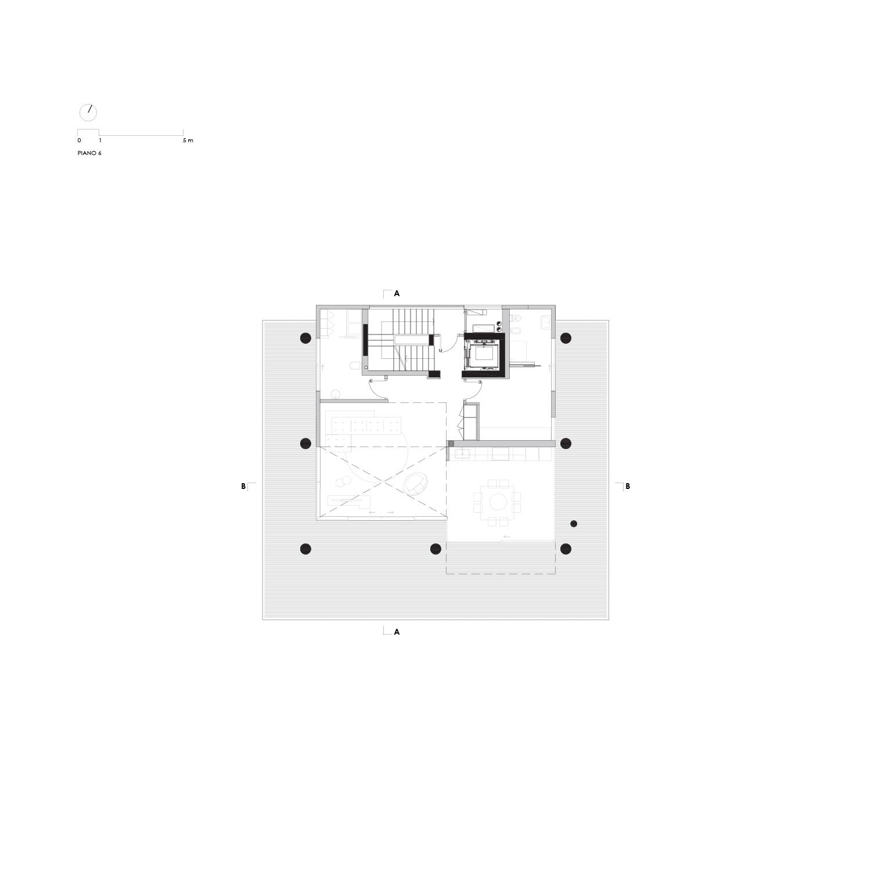 Pianta Piano 6 LVL Architettura}