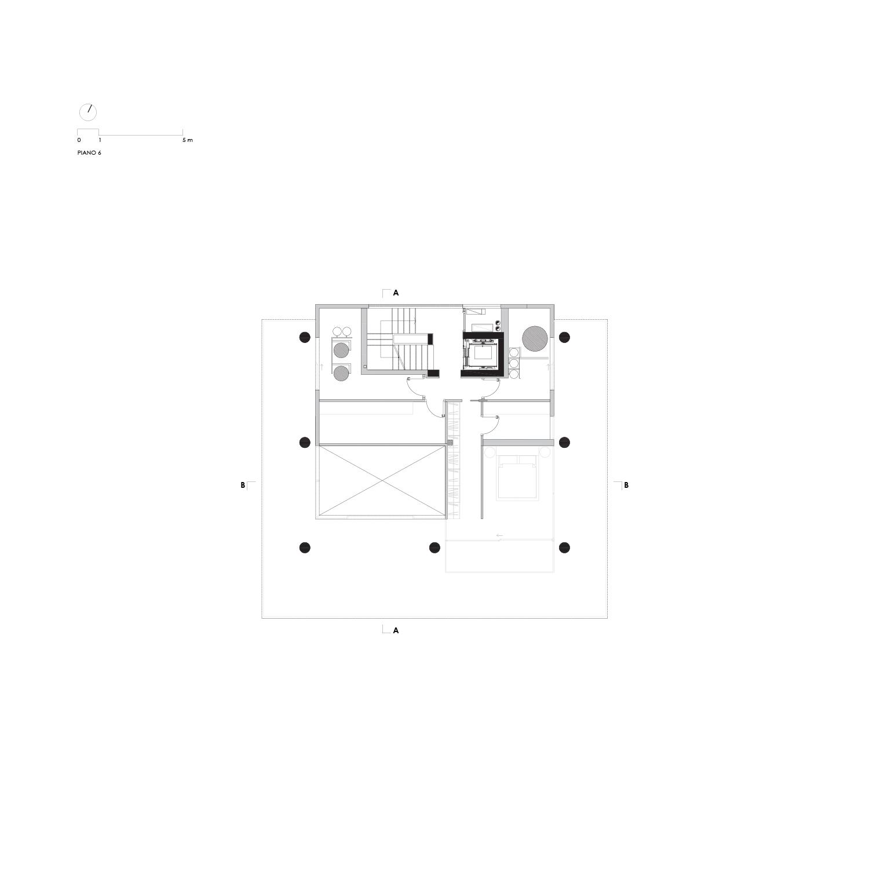 Pianta Piano 7 LVL Architettura}