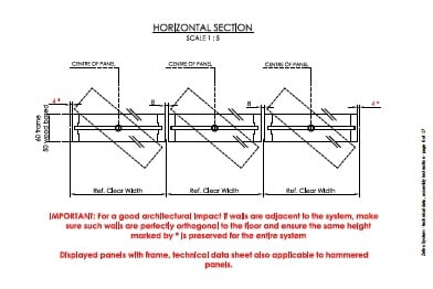 Horizontal Section Linvisibile}