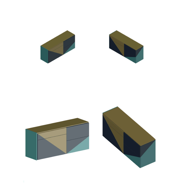 Concept design Arch. Anna Polisano, Designer Enrico Pontillo, Arch. Marco Esposito}