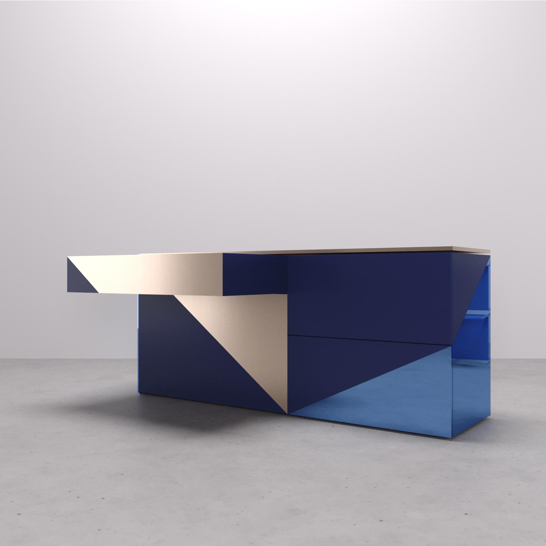 Vano portaoggetti push-pull Arch. Anna Polisano, Designer Enrico Pontillo, Arch. Marco Esposito