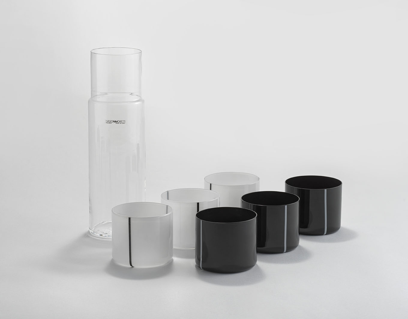 Caraffa 1L con set di bicchieri The Studio