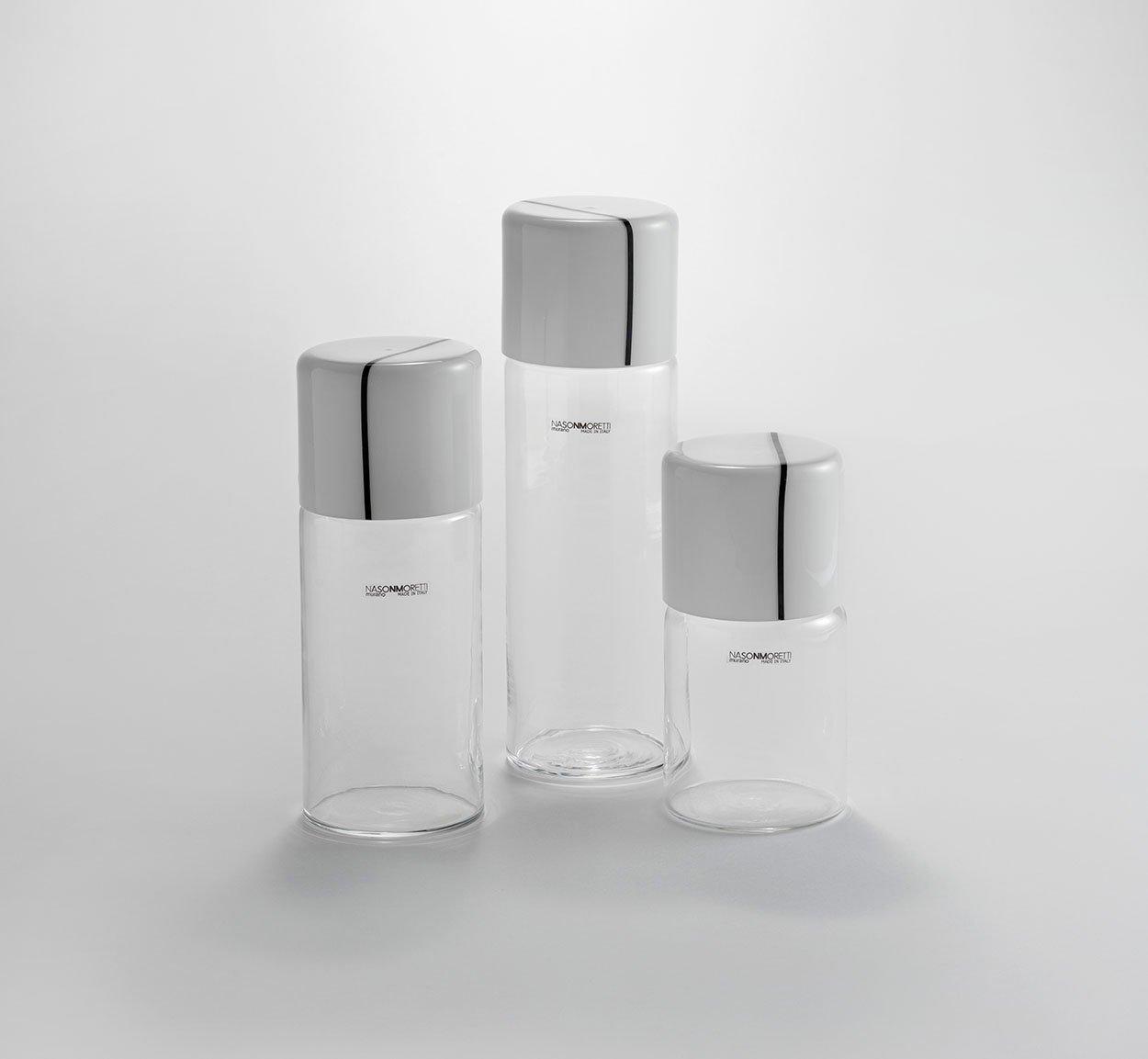 Composizione caraffe nelle tre dimensioni The Studio