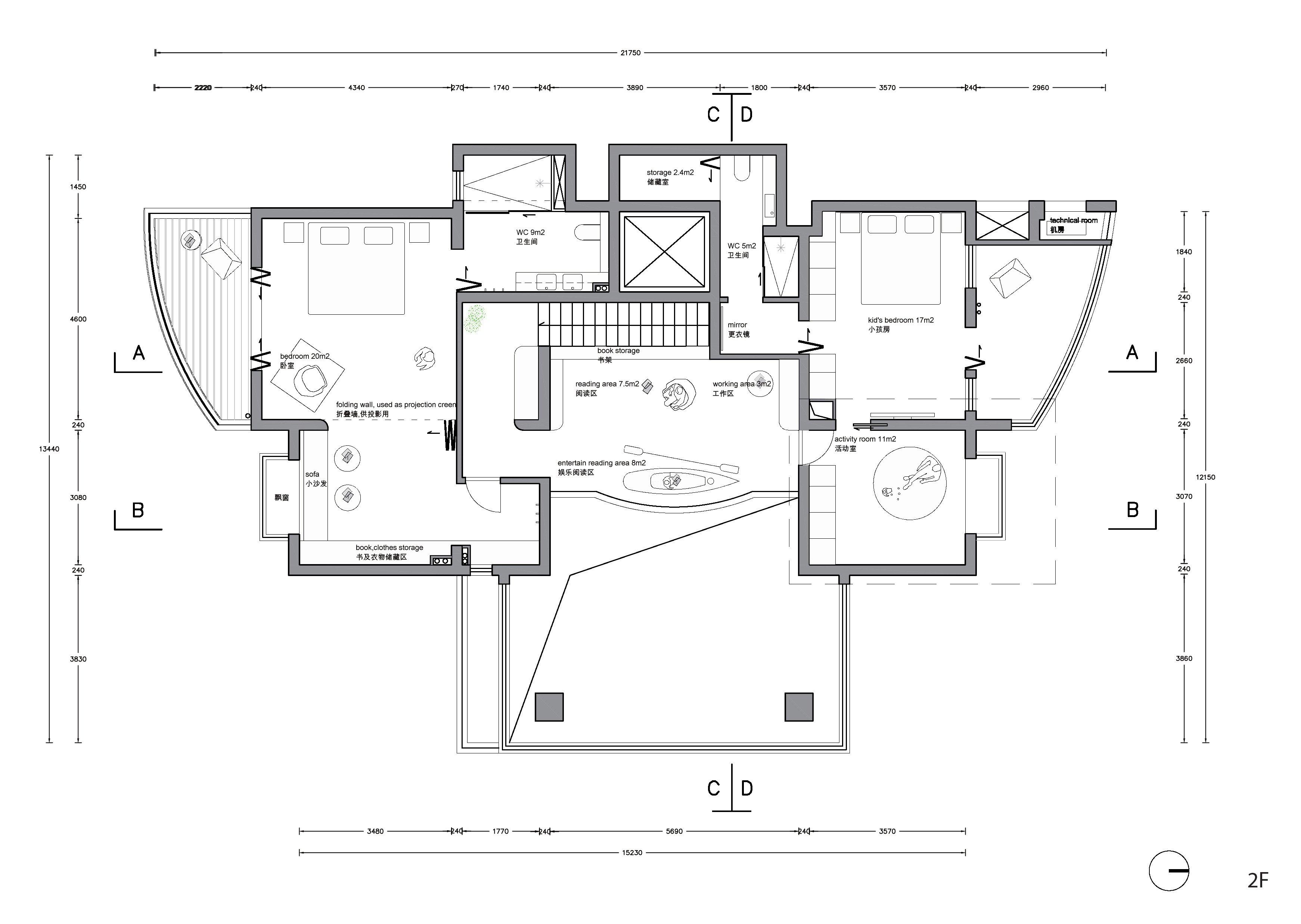 Plan 2F Office ZHU}