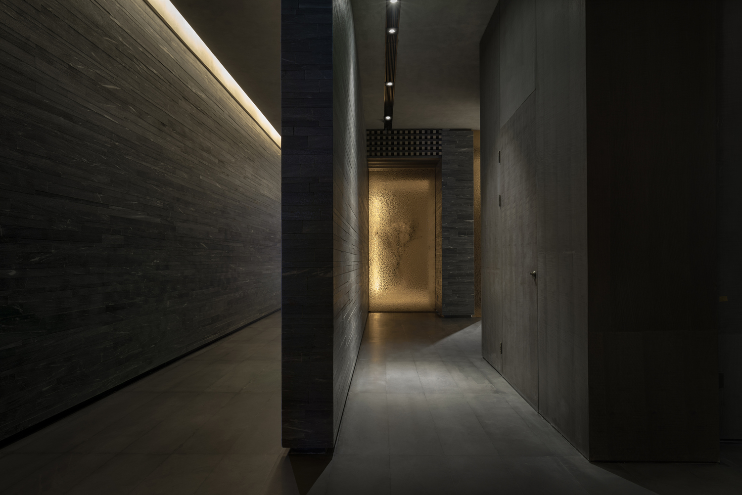 The end of the corridor A. GUANG