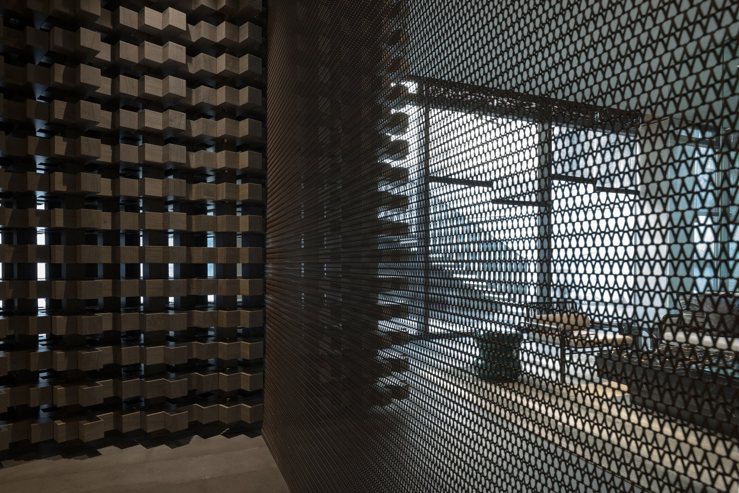 special metal curtain A. GUANG