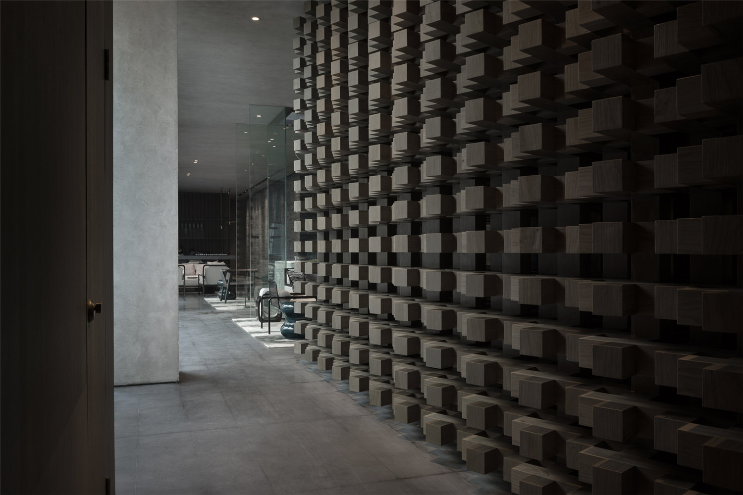 Different sizes of stones are used to made the walls A. GUANG