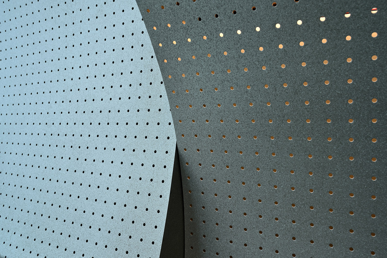 Pattern wall - grey Miran Kambič}