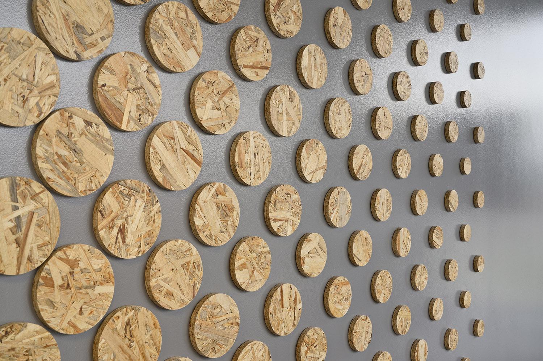 Pattern wall - wood Miran Kambič}