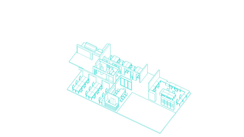 Exploded diagram 3 Shanghai ORIA Planning & Design Co., Ltd.}