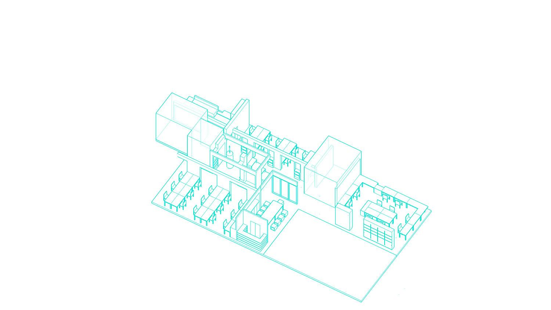 Exploded diagram 4 Shanghai ORIA Planning & Design Co., Ltd.}