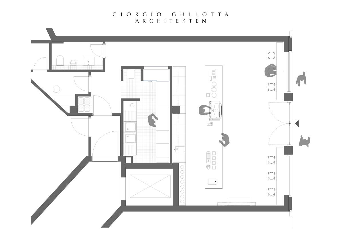 Floor Plan Giorgio Gullotta Architekten}