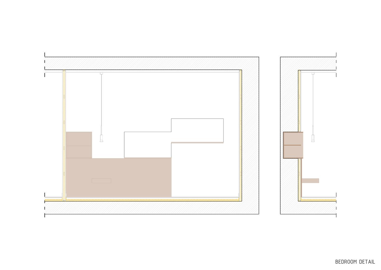 Bedroom detail Contextos de Arquitectura y Urbanismo}