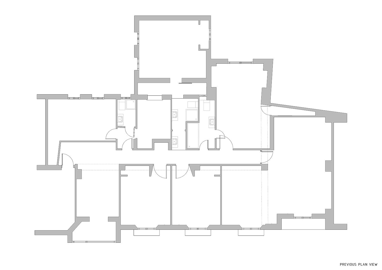 Previous plan view Contextos de Arquitectura y Urbanismo}