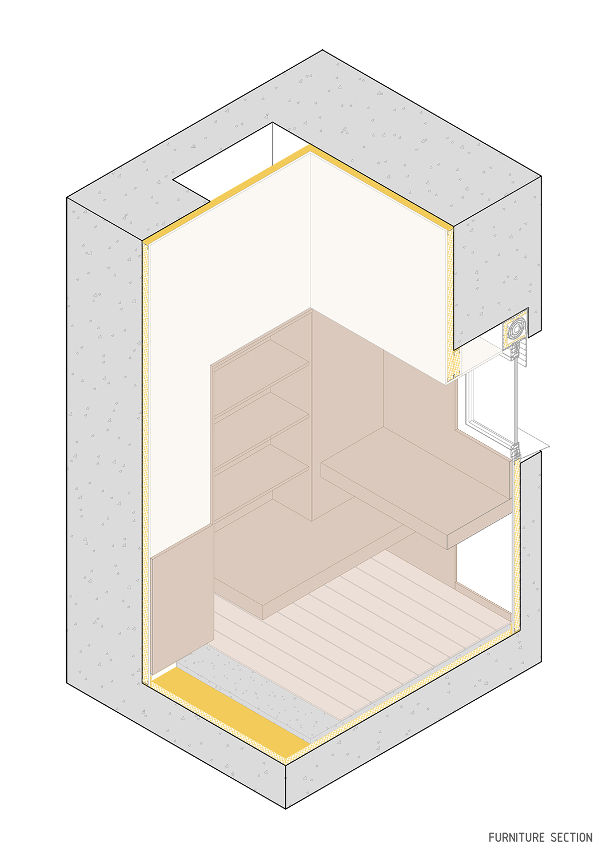 Furniture section Contextos de Arquitectura y Urbanismo}