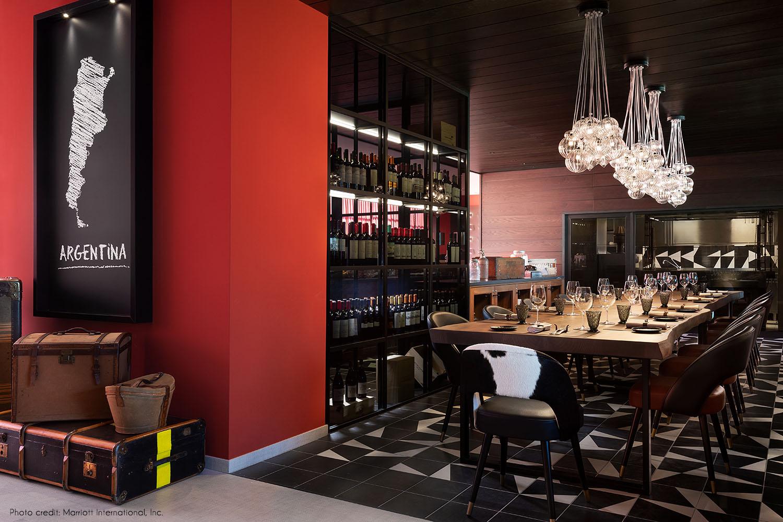El Patio del Gaucho restaurant Marriott International Inc.