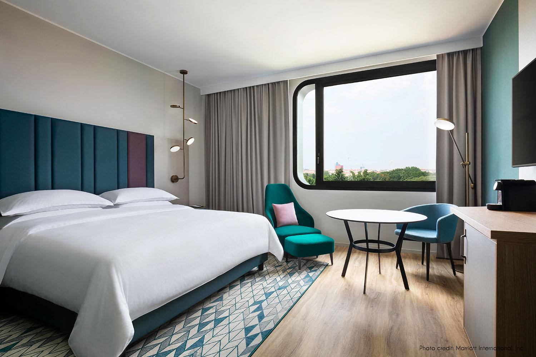 King bedroom Marriott International Inc.