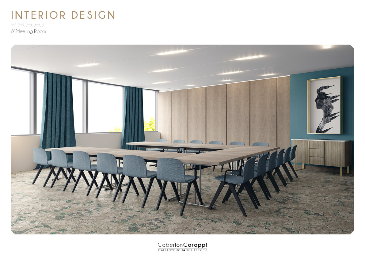 Sheraton Milan San Siro - Render CaberlonCaroppi Architetti associati}