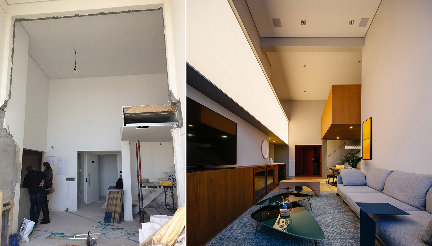 Before and after FCstudio/ Pedro Kok}