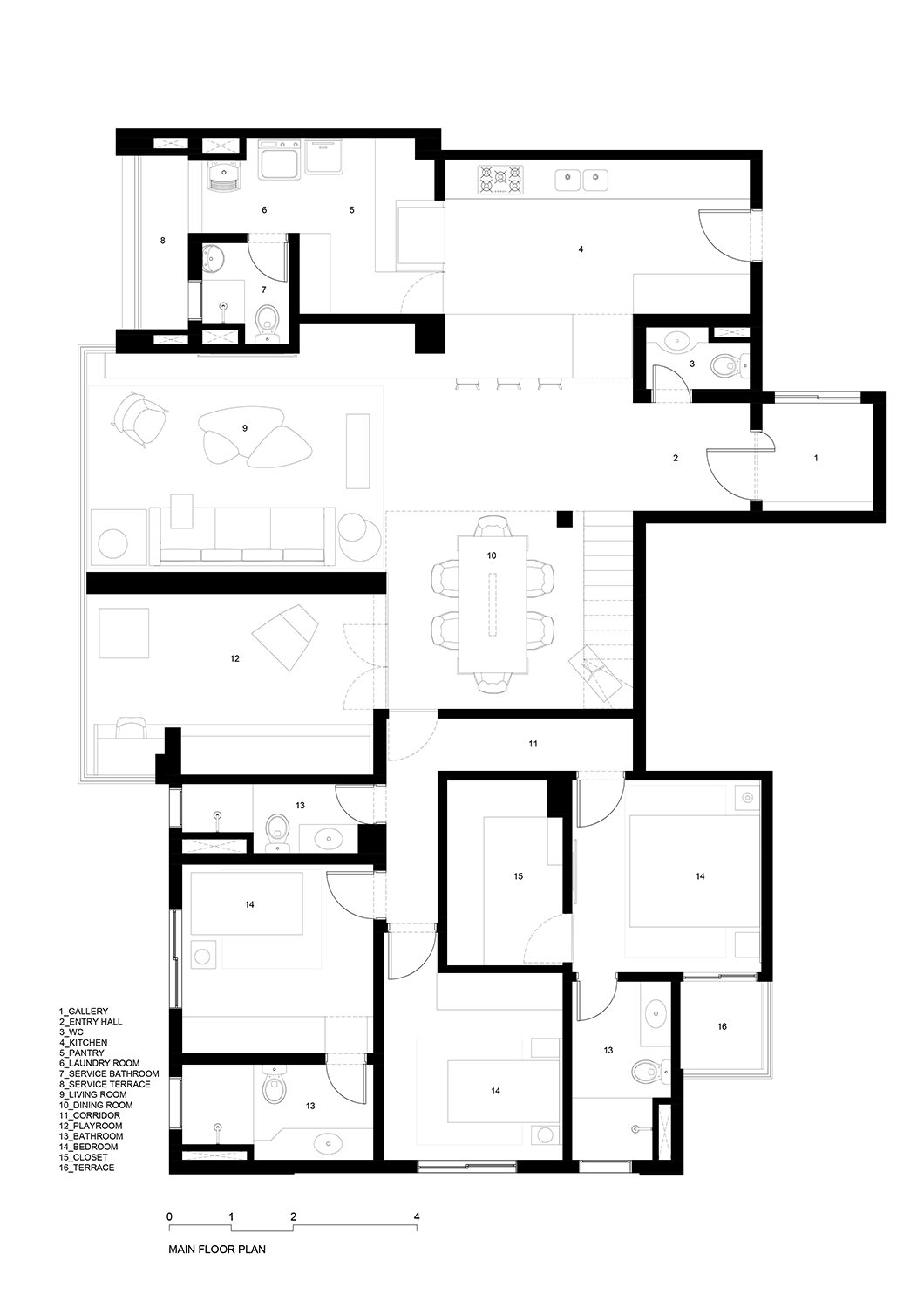 Main floor plan FCstudio}