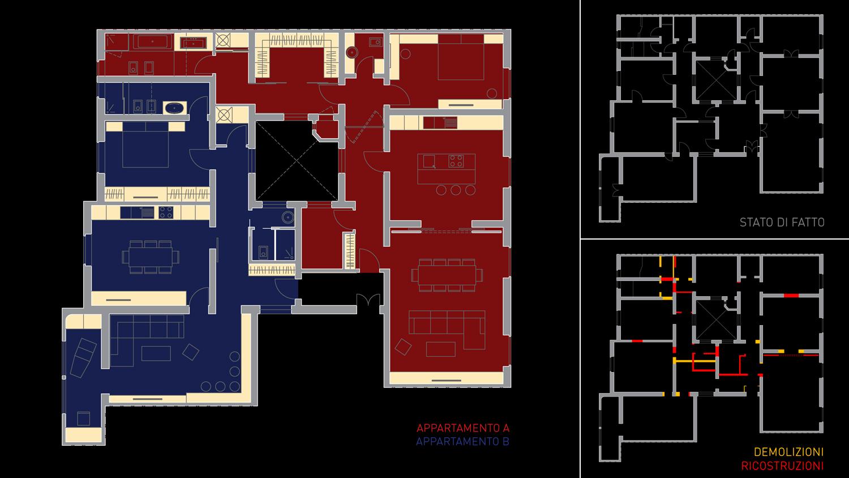 House C - pianta Giuseppe Todaro Architect