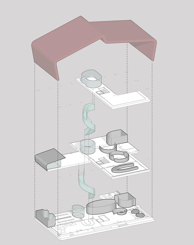 Concept Model SANJAY PURI ARCHITECTS}