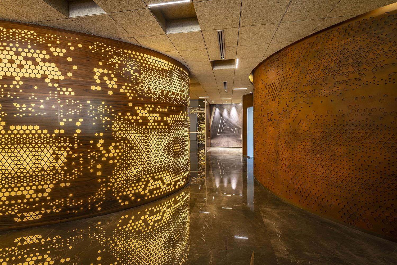 Ground Floor -Experience Centre Corridor Vinesh Gandhi