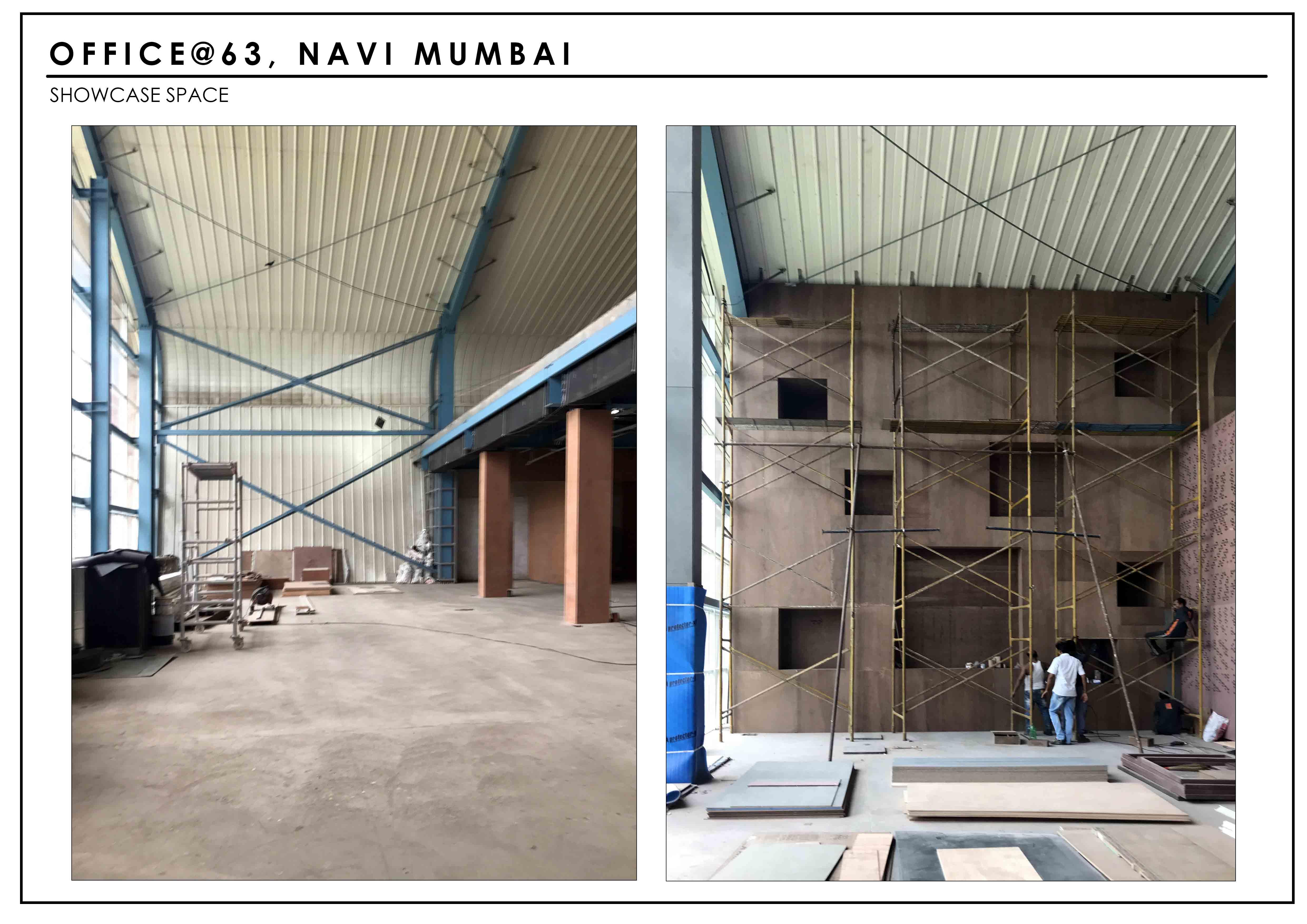 Site - Display Area SANJAY PURI ARCHITECTS}