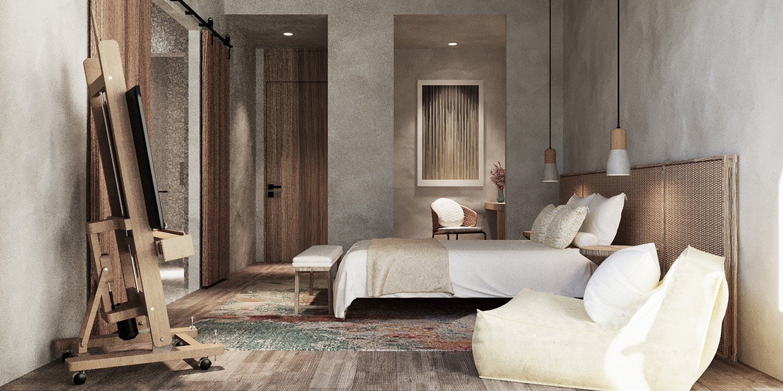 Guest room-1 Yangyang He