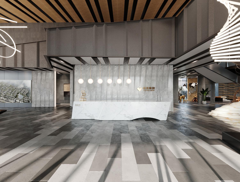 Reception lobby Wei Sun