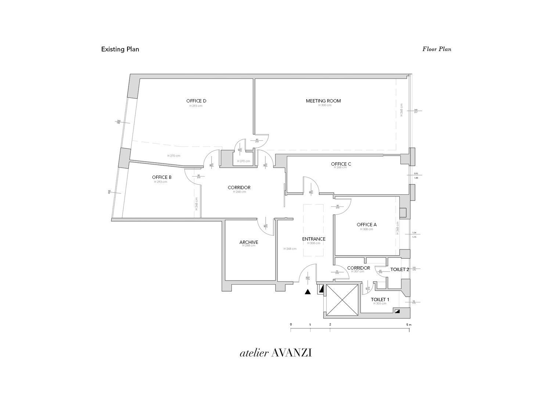 Existing Plan atelier Avanzi}