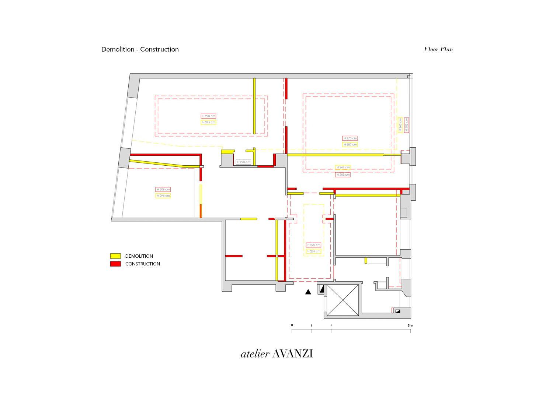 Demolition - Construction atelier Avanzi}
